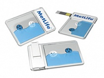 "Флешка "" Aqua USB Credit Card"""
